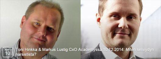 CxO Academy narsismista
