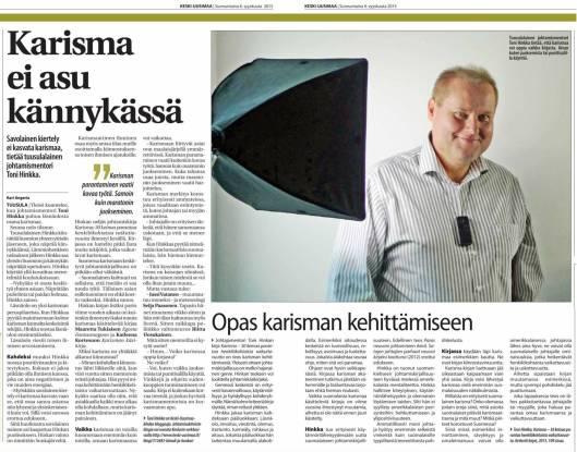 KU Karisma ei asu käynnykässä 2015-09