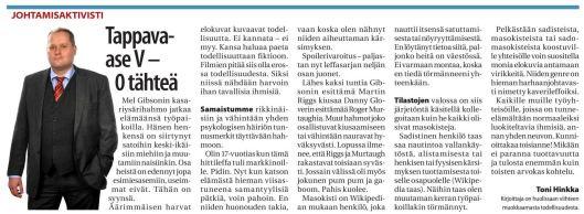 JU Johtamisaktivisti Tappava-ase V 0 tähteä 2015-09-16